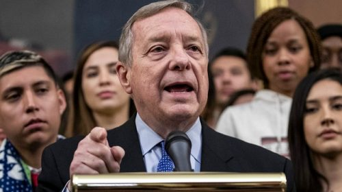 Durbin Says No to Whipping Senate Democrat Votes for Trump Impeachment Trial