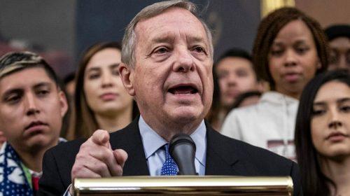 Durbin Says No to Whipping Senate Democrat Votes for Trump Impeachment Trial