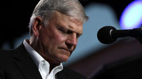 Franklin Graham: 'Shame, Shame' on the 10 Republicans Who Voted to Impeach Trump