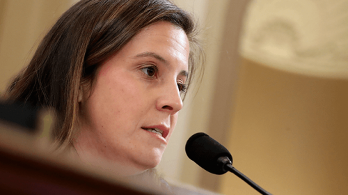 GOP Rep. Stefanik: 'I Am Not Worried About the Future of the Republican Party' -- GOP Is 'Energized' at a Local Level