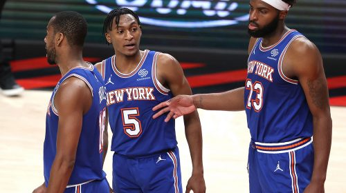Immanuel Quickley shines through massive Knicks disadvantage