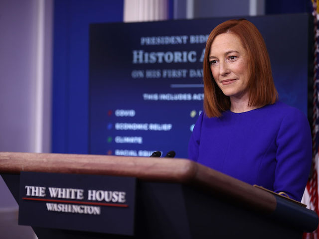 Jen Psaki on Biden Violating Own Mask Mandate: 'We Have Bigger Issues to Worry About'