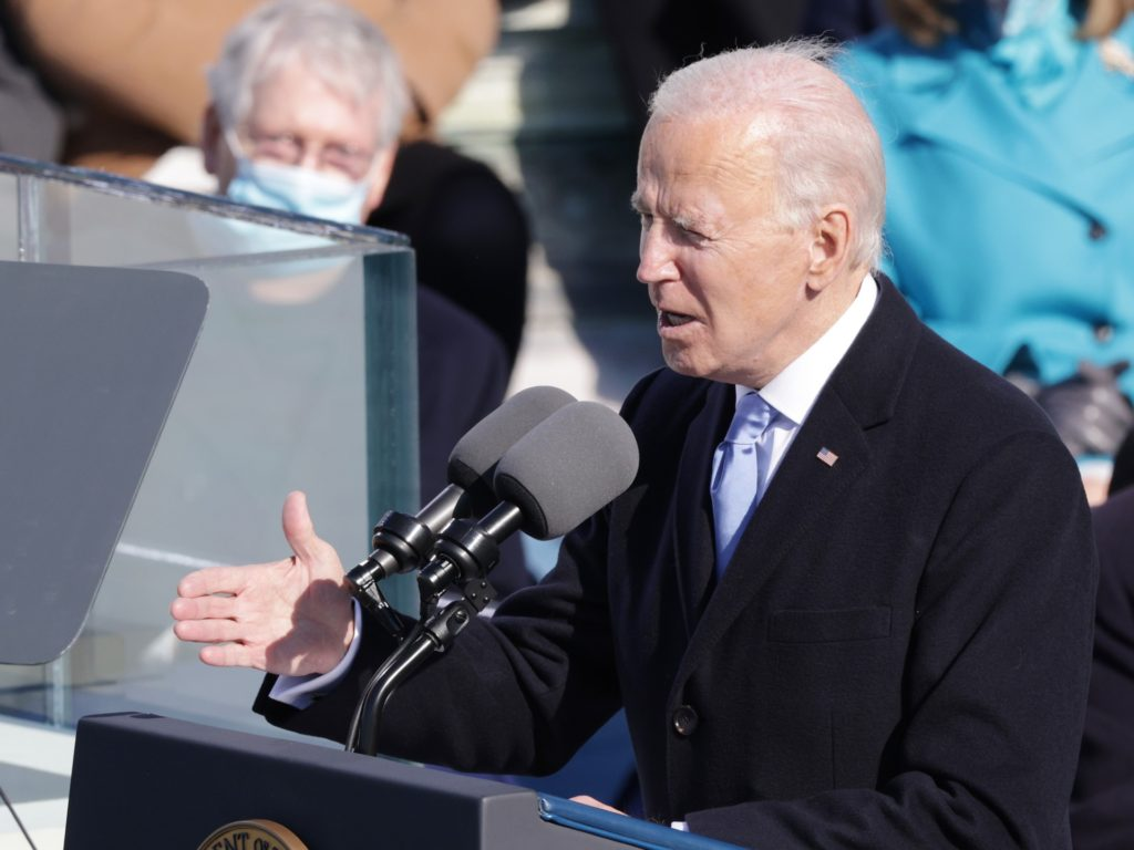 Joe Biden Calls for Unity in Inaugural Speech While Demonizing Fellow Americans