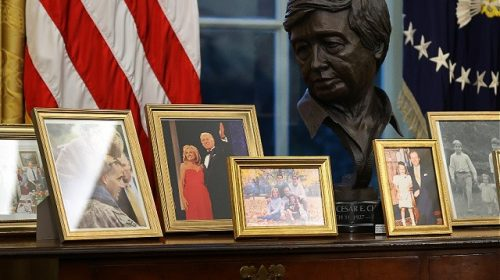 Joe Biden Removes Winston Churchill Bust, Andrew Jackson Painting from Oval Office
