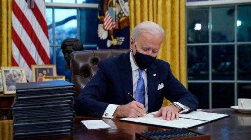 Joe Biden Signs Stack of Executive Orders to Roll Back Donald Trump Agenda