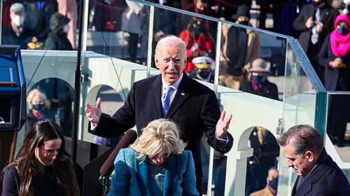 Joe Biden Urges Americans to Stand Up to 'Lies Told for Power and for Profit'