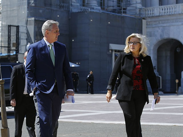 Kevin McCarthy Won't Back Effort to Remove Liz Cheney from Leadership Post