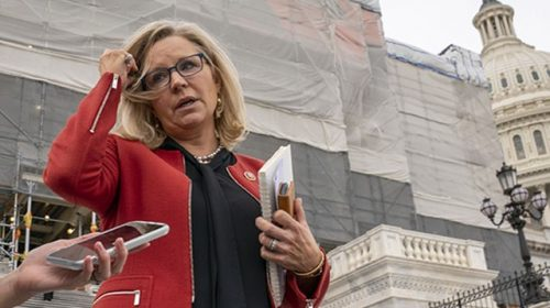 Liz Cheney Censured in Wyoming for Violating 'Trust of Her Voters'