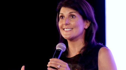 Nikki Haley Pleads with Democrats to Give Trump a 'Break' After Telling RNC His Actions Will Be 'Judged Harshly by History'
