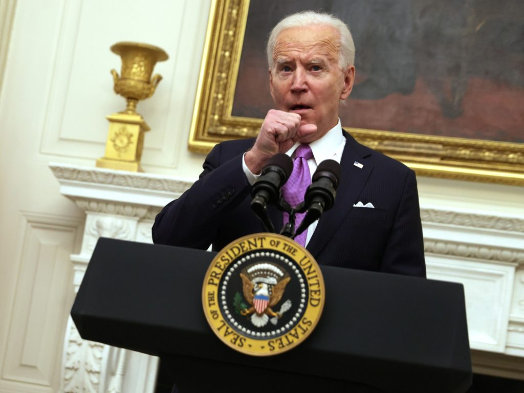 Nolte: Biden's Already Betrayed His Own Mask Mandate and the Troops