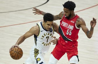 Pacers win in Portland for first time since 2007, 111-87 over Trail Blazers