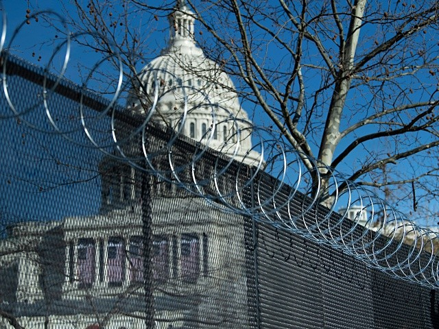PHOTOS: Feds Build Walls in D.C. for Anti-Border Wall Joe Biden, Kamala Harris