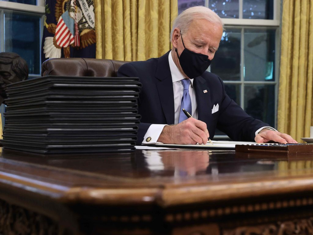 Rule by Decree: Joe Biden Sets Record for Executive Orders in First Week