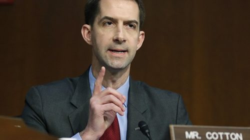 Tom Cotton: Senate 'Lacks Constitutional Authority' to Proceed with Impeachment After Trump Leaves Office