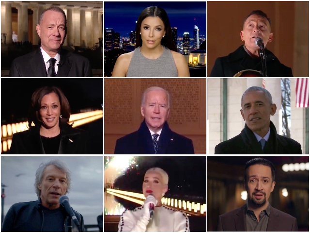 Tom Hanks Leads Primetime Biden-Harris Inauguration 'Celebrating America' Telecast Featuring Anti-Trump Celebrities