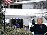 Trump will leave the White House at '8am Wednesday' - the morning of Biden's inauguration