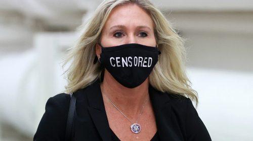 Twitter temporarily suspends GOP Rep. Marjorie Taylor Greene