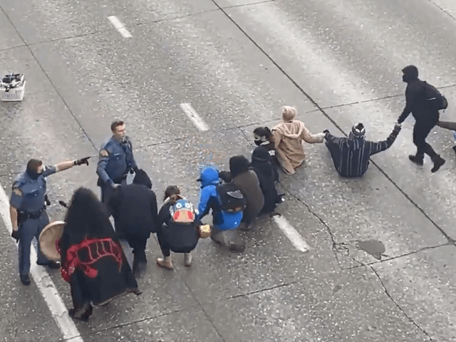 WATCH: BLM Protesters Shut Down Seattle Freeway