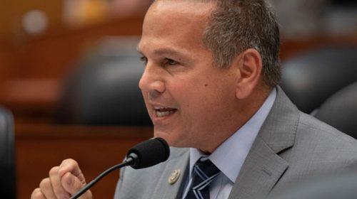 Watch: Democrat Rep. David Cicilline Pulls Down Mask to Sneeze into His Hand