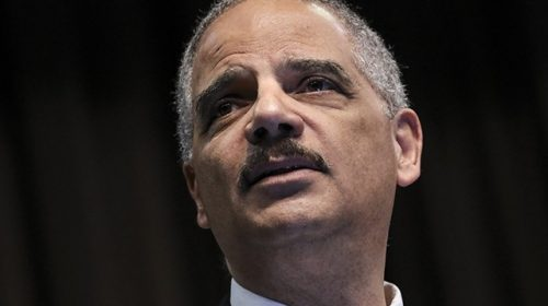 WATCH: Eric Holder Urges Democrats to Pack the Supreme Court