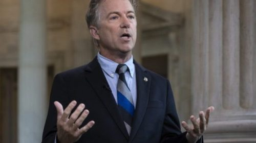 WATCH: Rand Paul Highlights Democrat 'Incitement' in Speech Against Impeachment Trial