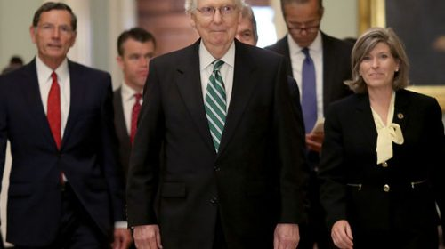 With Democrat Path to Nuclear Option on Filibuster Closed, Senate Leaders Proceed on Power-Sharing Agreement