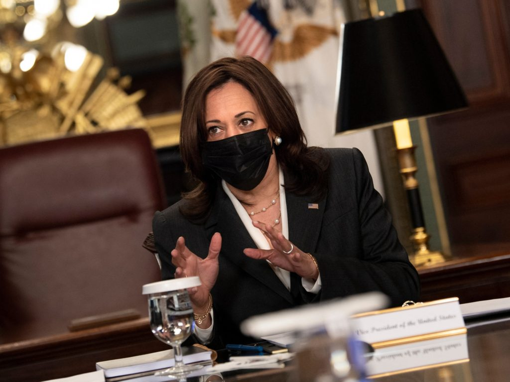 Kamala Harris Vows to Fight Climate Change as 'Root Cause' of Migration Crisis