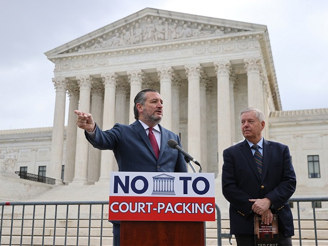 Ted Cruz: Republicans Did Not Try to Pack Court, Democrats 'Trying to Rig the Game'