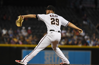Merrill Kelly spins seven strong as D'Backs snap 17-game losing streak, 5-1 over Brewers
