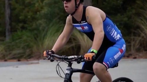 VIDEO: Ironman Athlete Inspires Teen with Down Syndrome to Complete Mini-Triathlon