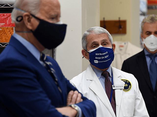Exclusive--GOP Lawmakers Blast Biden's Coronavirus Surrender: Americans 'Have Had Enough of Biden and Fauci's Fake Science'