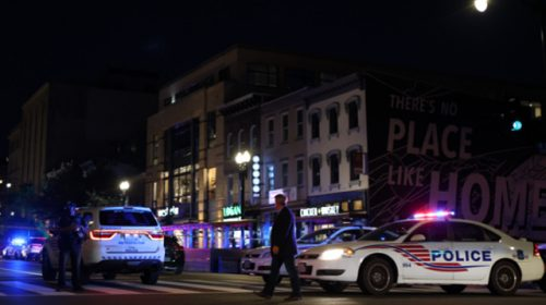 Two Men Shot, Wounded on Washington DC's Busy 14th Street