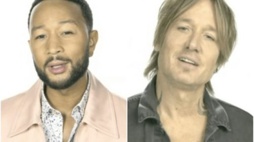 Video: John Legend, Keith Urban Lead Singing of 'Imagine' at Olympics Opening Ceremony