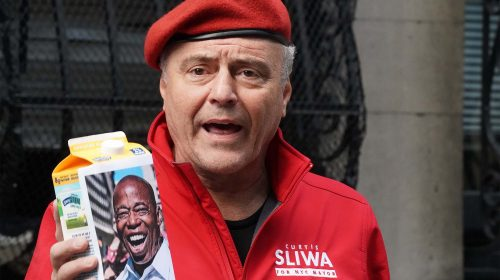 Curtis Sliwa asks neighbors if Eric Adams really lives in New Jersey
